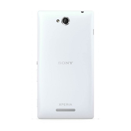 SONY Xperia C [C2305] - White - Smart Phone Android